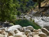 1 gargantas de agua cristalina, cascadas, charcas